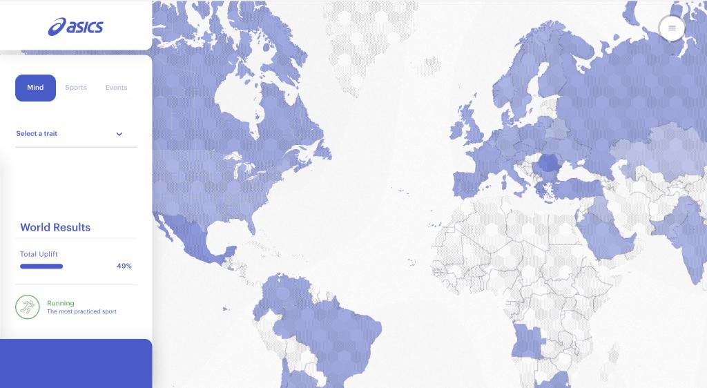 World Uplift Map